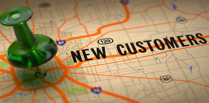 Back to basics on getting a new customer