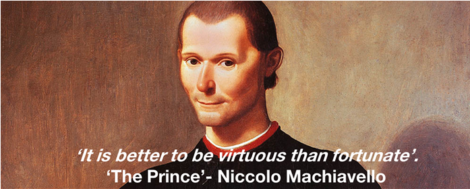 How to be a Marketing Machiavelli.