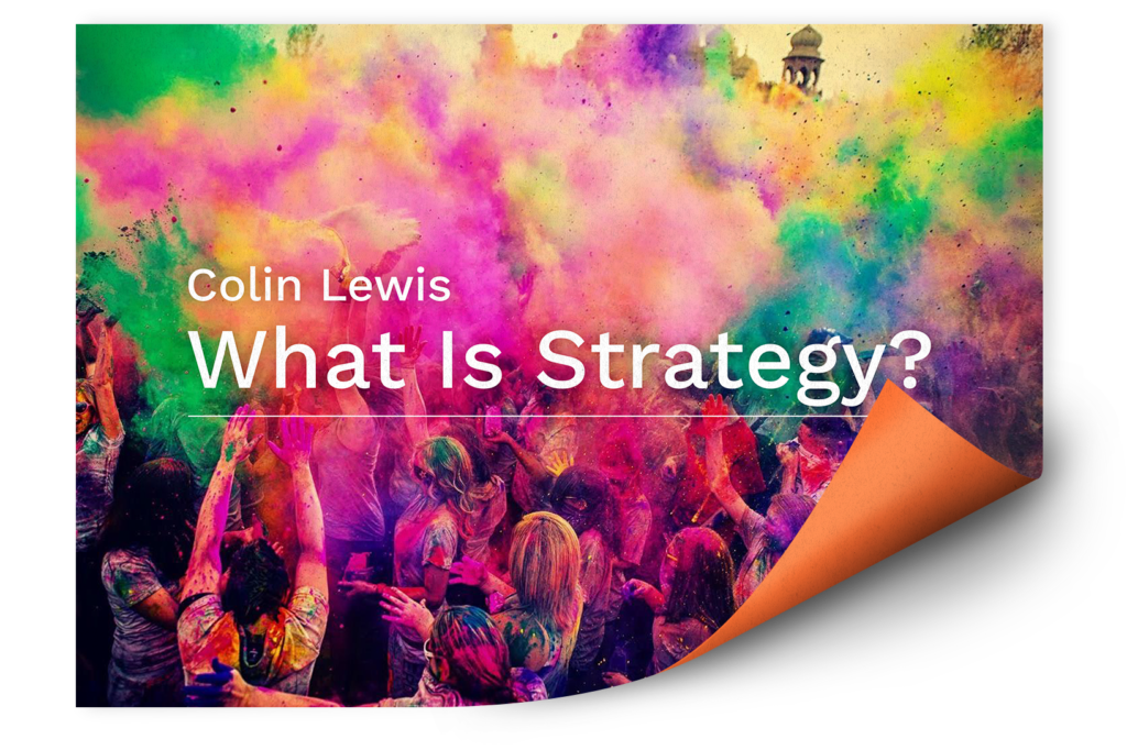 what-is-strategy-colin-lewis
